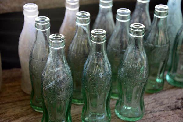COCA COLA BOTTLE - Des bouteilles de coca-cola de la seconde guerre mondiale