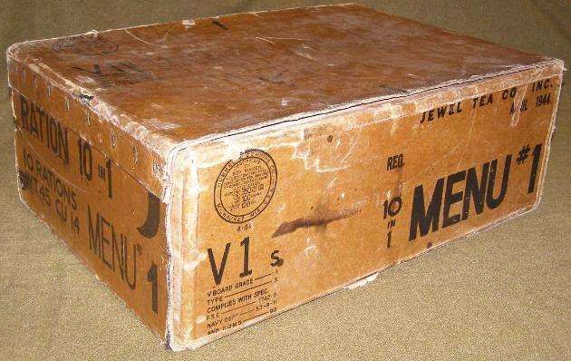 Ration Box 10 in 1 Menu 1 1944 630x398 - Une caisse de rations 10-in-1