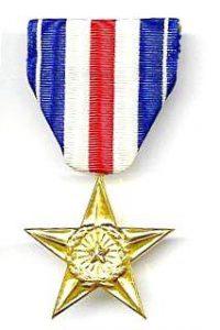 MEDAL SilverStar 200x300 - Les médailles et décorations américaines
