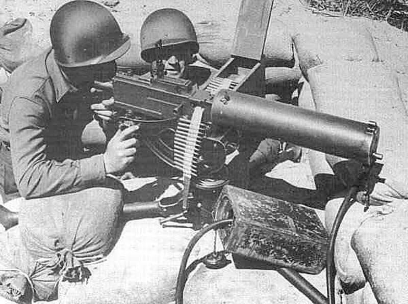 browning m1917 - Tir à la Browning M1917