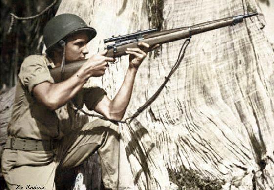 3bd4a77454ae283cc3463e570c79bbe3 - Un Marines et son M1903A4