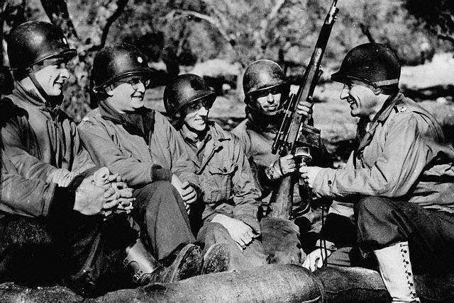 5574886115 1f032face6 z - En Italie en 1944 : le soldat du fond a son Springfield M1903A4