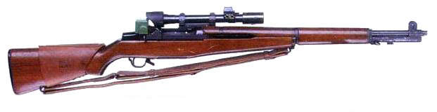 M1C - Le fusil de précision Garand M1C
