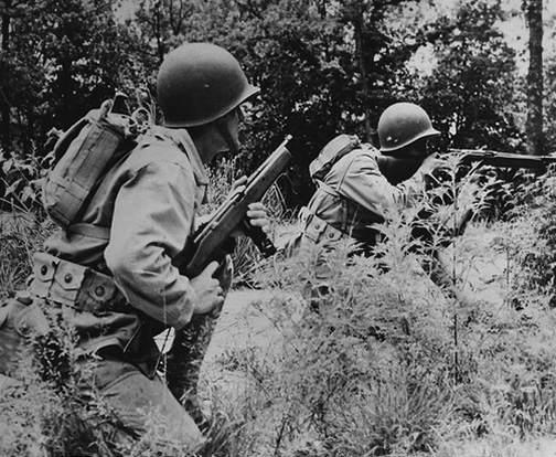 reising7 - Entraînement de Marines à la Reising M50 (à droite) et M55 (à gauche) au MCB de Quantico