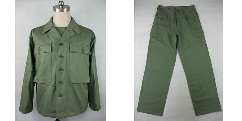 VESTE PANT - La veste et le pantalon HBT