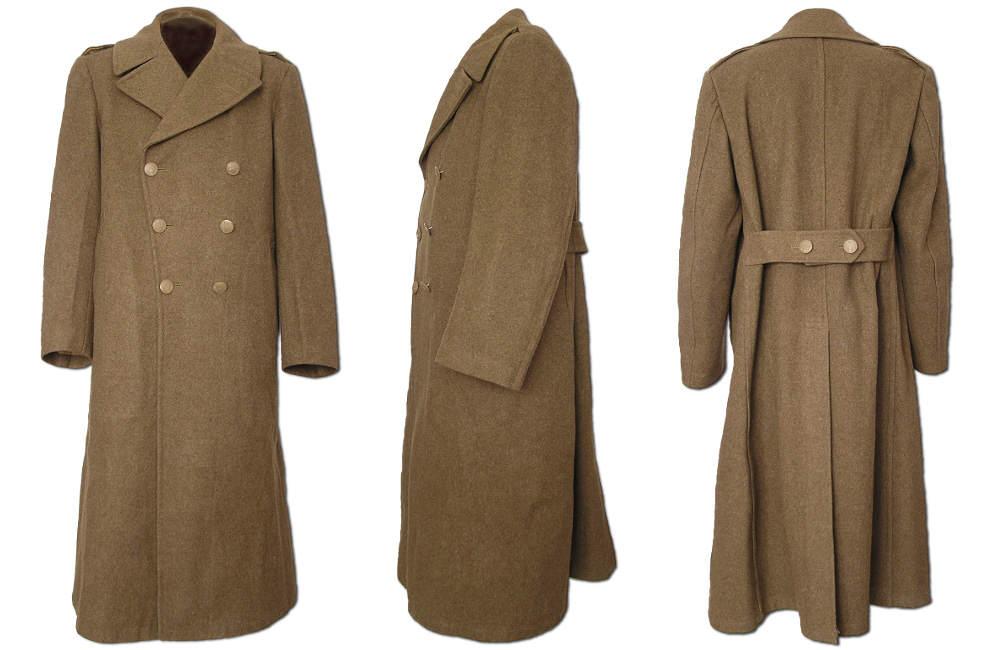 capote - La capote d'hiver en laine us ww2
