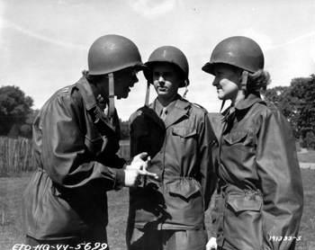 M43Normandie2 - Autre photo montrant la veste M-43 utilisée lors du débarquement de Normandie