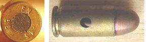45 inerte M1921 2 300x83 - La cartouche de calibre 45 ACP
