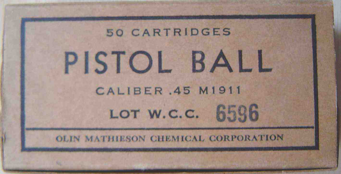boite1143blinde - Boîte de 50 cartouche de calibre 45 ACP