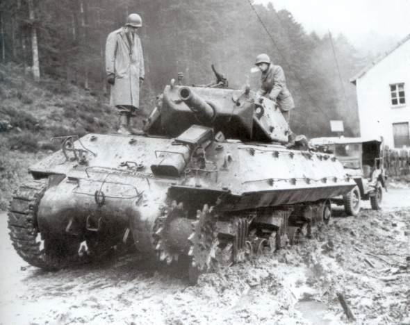 m10 to10 - Un M10 hors de combat