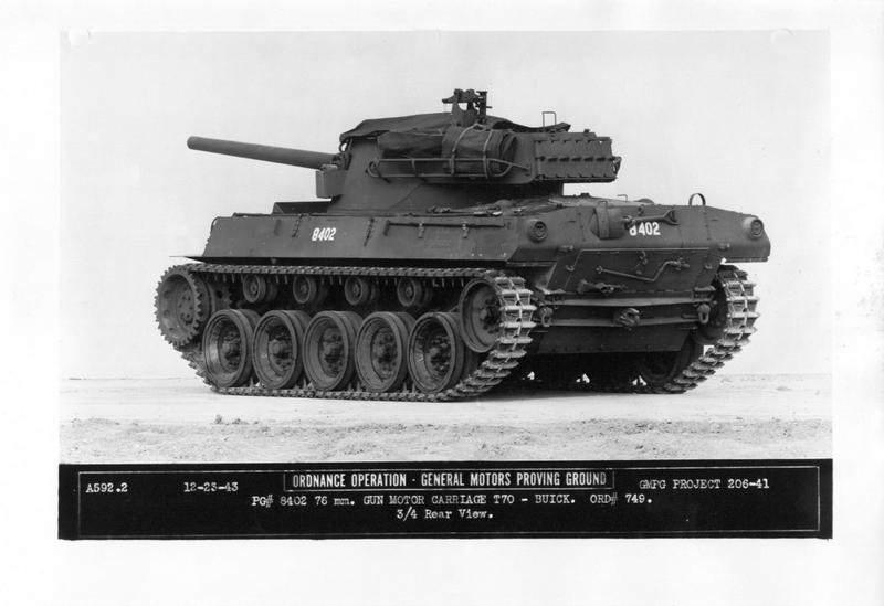 2xq610 - Vue arrière sur M18 Hellcat
