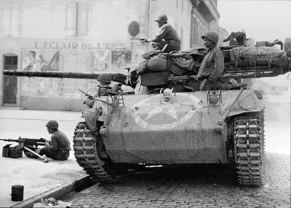 93 - Un M18 Hellcat en France