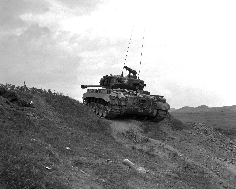 M26 Pershing Naktong 19500903 - m26-pershing de dos