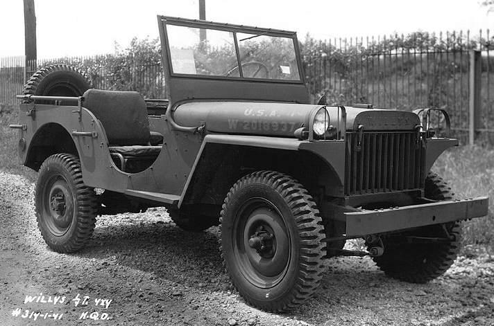 1941 Willys MB Light Truck - La Willys MA