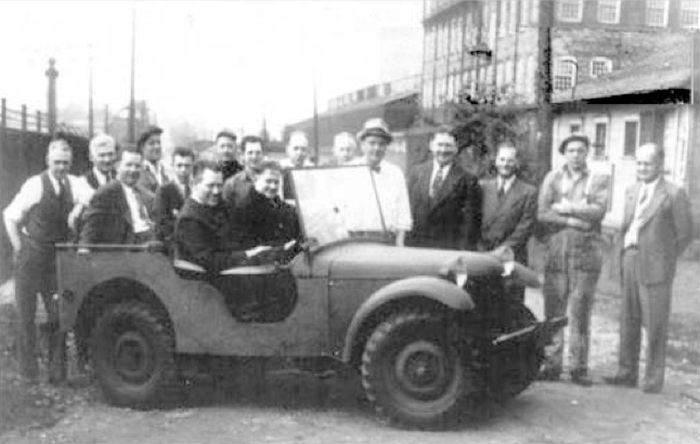 Bantam 1 - La Jeep Bantam Number One