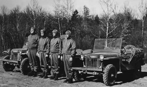 665M - 1940 - 1941 : La jeep Bantam et son équipage
