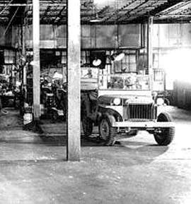 id willys ma 375 - Photos prises à l'usine Willys-Overland. Chaine de fabrication de la jeep Willys MA en 1941