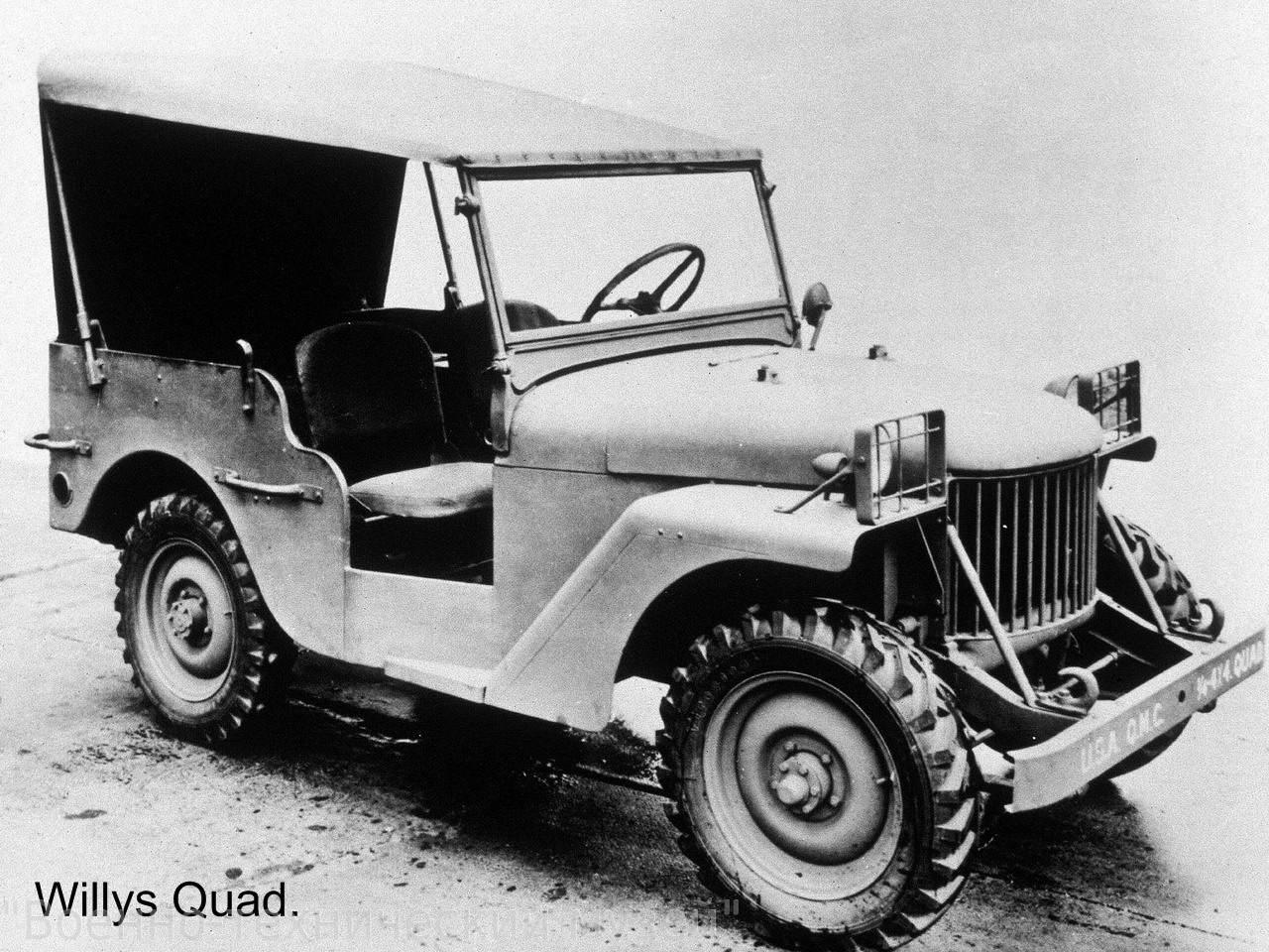 willys quad 2 - La Jeep Willys-Overland quad