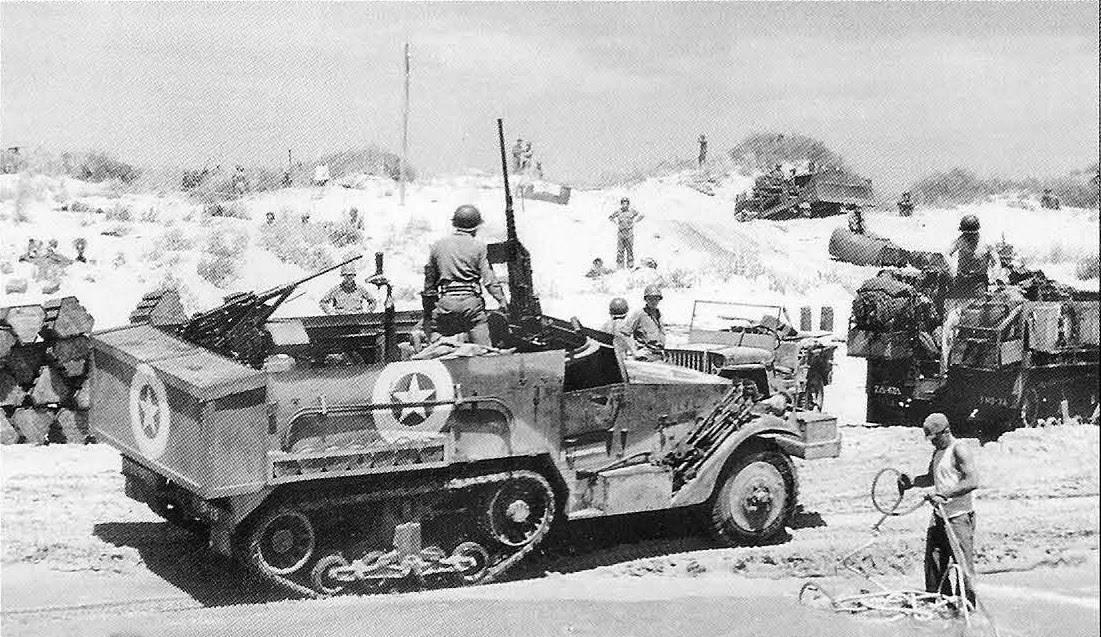 M2 Halftrack 67 Armored Rgt Sicily - Le Half-track M2