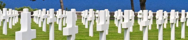 1 COLLEVILLE - Visiter le cimetière Américain de Colleville-sur-Mer