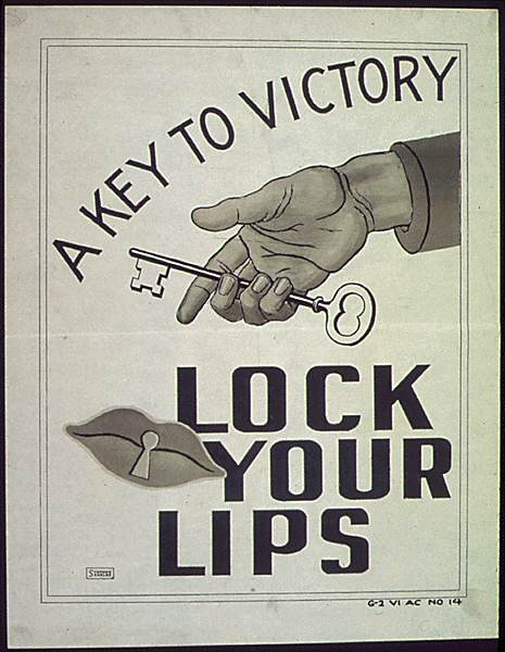 POSTERS USA0707 - Lock your lips