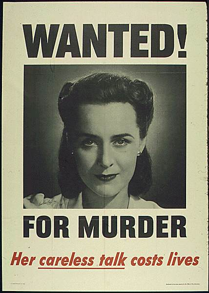 POSTERS USA0713 - Wanted for murder