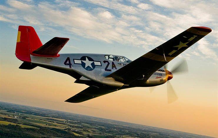 p 51c 18 - Un P51 Mustang restauré aux couleurs des Red Tails