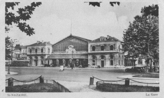 17 7 640x384 - La gare de Siant Nazaire, qui sera fortement touchée par la suite durant les bombardements de 1945