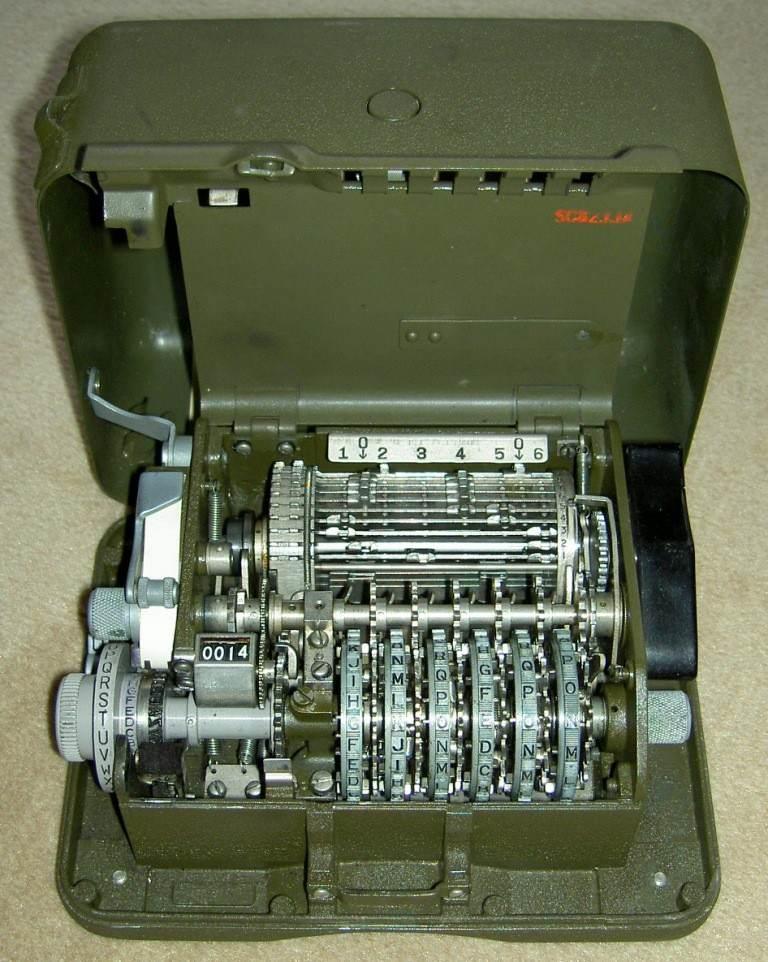 26 fonctionnement - Le converter M209 ouvert