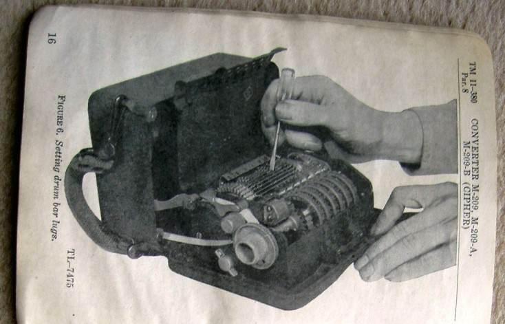 32 fonctionnement - Déplacement des barres coulissantes du converter M-209