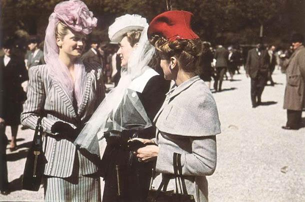 andre zucca Paris sous occupation 1940 1944 15 - A l'hippodrome de Longchamp en août 1943