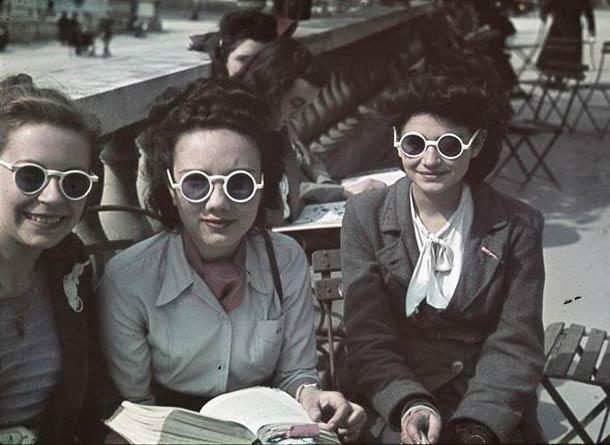 andre zucca Paris sous occupation 1940 1944 46 - Jardin du Luxembourg, en mai 1942