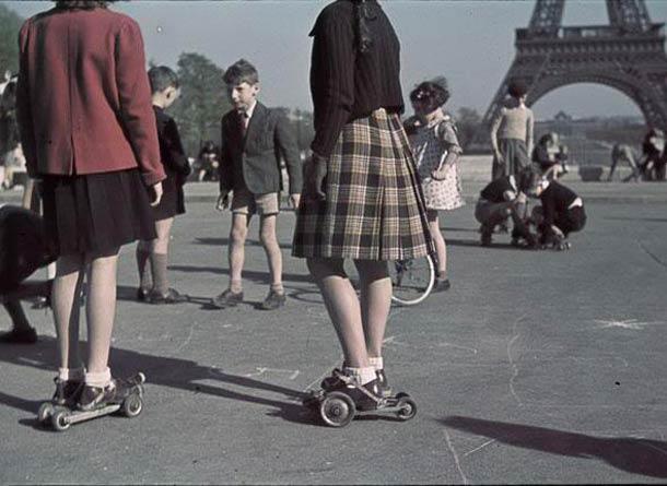andre zucca Paris sous occupation 1940 1944 48 - L'esplanade du palais de Chaillot