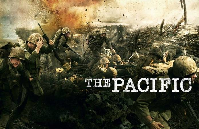 Affiche de la nouvelle série 'The Pacific'