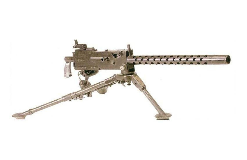 La mitrailleuse Browning M1919