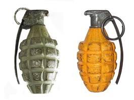 Les Fragmentation Grenade Mark II & Mark IIA1