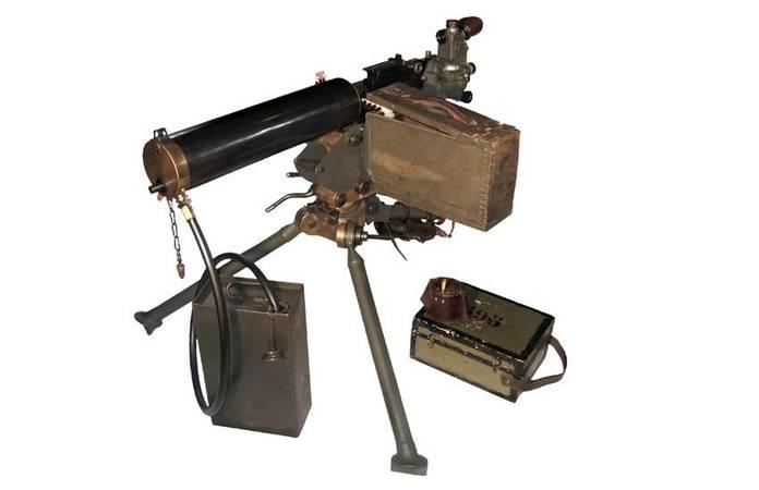 La mitrailleuse Browning M1917