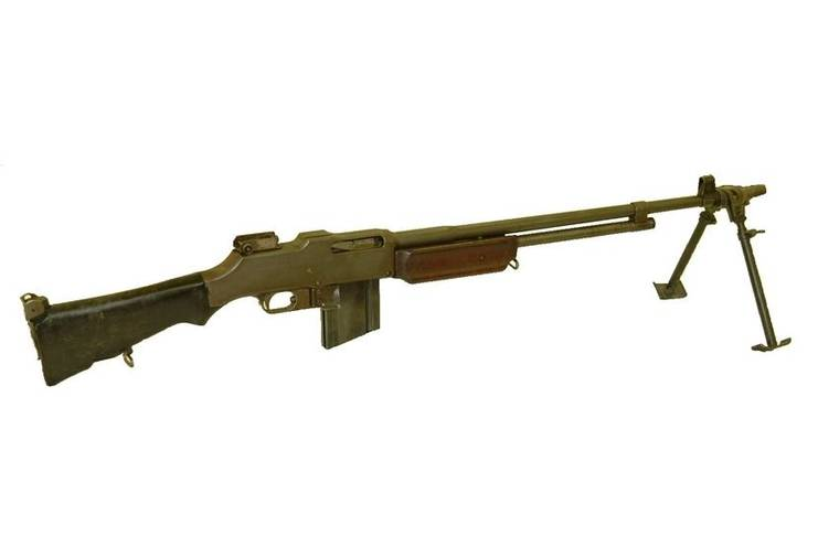 Le Browning Automatic Rifle M1918 (B.A.R 1918)