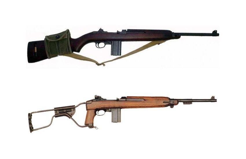 La carabine USM1 et USM1A1