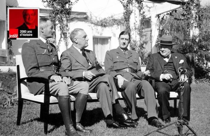 2000 ans d'histoire, De Gaulle et Roosevelt