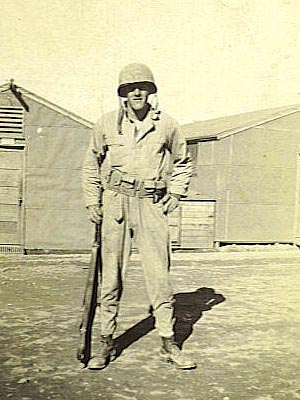 blithetoccoa - Albert Blithe au Camp Toccoa, Georgia, en 1942.