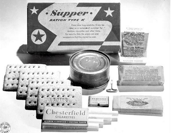 KRation Supper - Version colorée des rations K