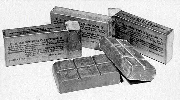 rations d 800 - Contenu de la ration D