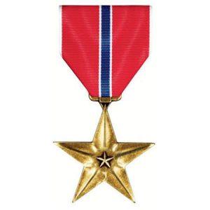 MEDAL BronzeStar 300x300 - Les médailles et décorations américaines