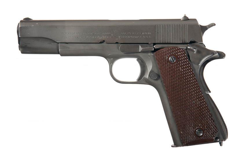 Le Colt 1911A1 (ou Colt 45)