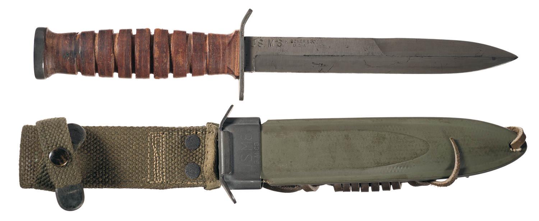 CEB278 K O5 O - Couteau USM3 et son fourreau M8