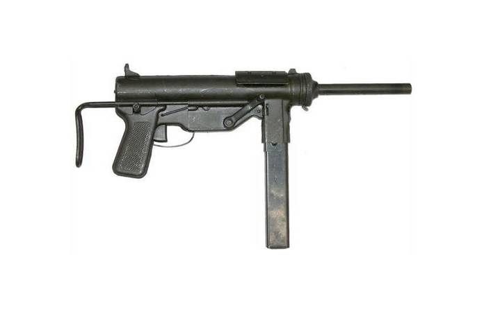 Le pistolet mitrailleur Grease Gun M3A1