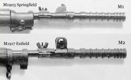 M1 M2 adaptateurlancegrenade - Les adaptateurs lance-grenades M1 et M2
