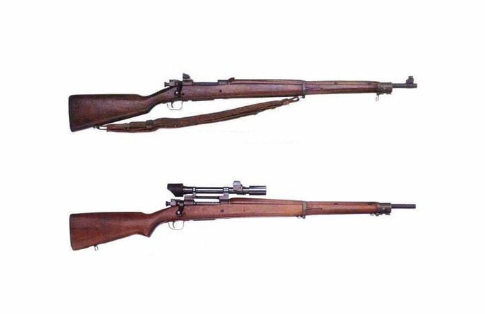 Le fusil Springfield M1903 et 1903A4