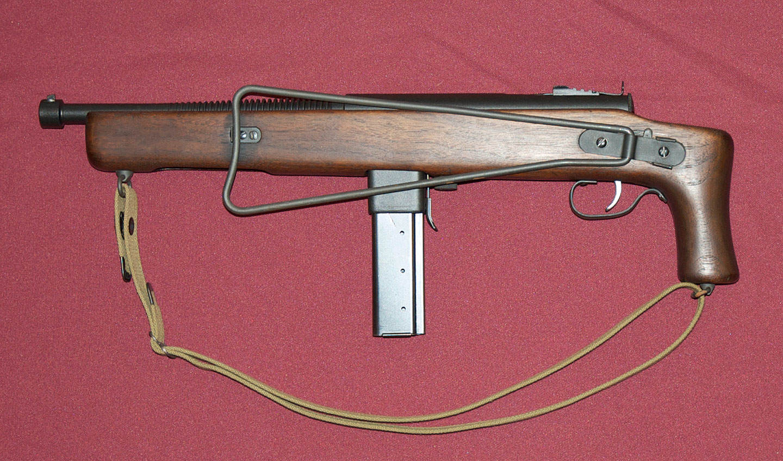 Model 55 Closed - Le Reising M55 avec crosse repliée